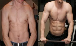 Tremendous Transformations with Mass Gainer: Mass Gainer Before and After